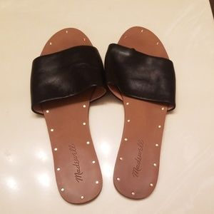 Madewell leather sandals.